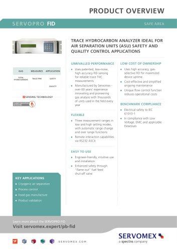SERVOPRO FID Product Brochure