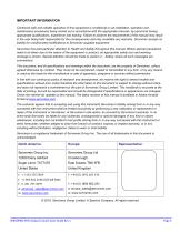 SERVOPRO HFID Quick Start Guide PN 221196Q Rev 1 - 3