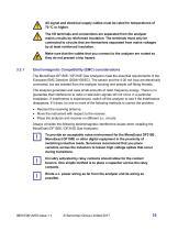 SERVOPRO MonoExact DF150E-DF310E Operator Manual - issue 1.1 - 15