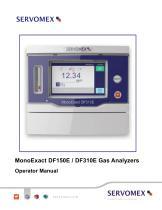 SERVOPRO MonoExact DF150E-DF310E Operator Manual - issue 1.1 - 1