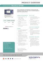SERVOPRO MonoExact DF150E Product Brochure - 1