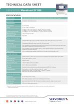 SERVOPRO MonoExact DF150E Product Brochure - 3