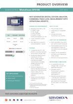 SERVOPRO MonoExact DF310E Product Brochure - 1