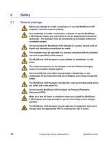 SERVOPRO MultiExact 4100 Installation and Operator Manual_1.3 - 16