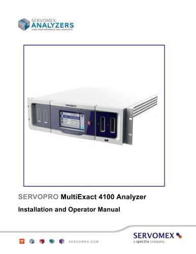 SERVOPRO MultiExact 4100 Installation and Operator Manual_1.3