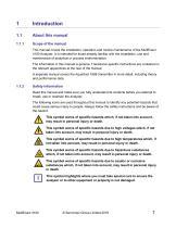SERVOPRO MultiExact 4100 Installation and Operator Manual_1.3 - 7