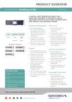 SERVOPRO MultiExact 4100 Product Brochure - 1