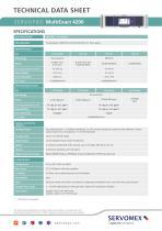 SERVOPRO MultiExact 4200 Product Brochure - 3