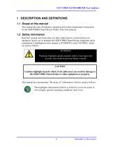 SERVOPRO NanoChrome Operator Manual 04416001A_6 - 9