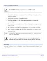 SERVOPRO NOx Quick Start Guide PN 221195Q Rev 1 - 11