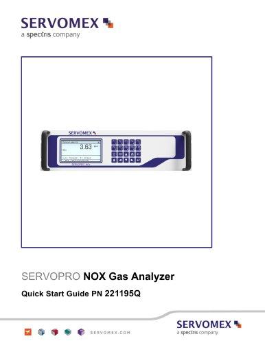 SERVOPRO NOx Quick Start Guide PN 221195Q Rev 1