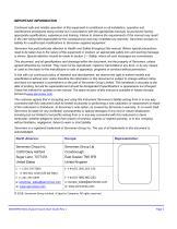 SERVOPRO NOx Quick Start Guide PN 221195Q Rev 1 - 2
