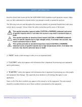 SERVOPRO NOx Quick Start Guide PN 221195Q Rev 1 - 6