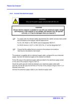 SERVOPRO Plasma Operator Manual 02001001A_10 - 18