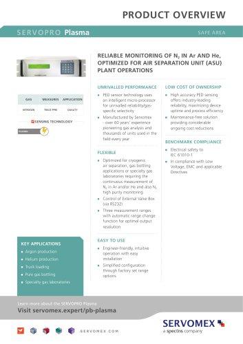 SERVOPRO Plasma Product Brochure