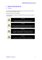 SERVOPRO PureGas Operator Manual 02005001A_0 - 10