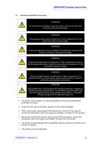 SERVOPRO PureGas Operator Manual 02005001A_0 - 13
