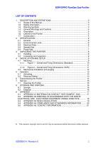 SERVOPRO PureGas Operator Manual 02005001A_0 - 3