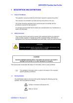 SERVOPRO PureGas Operator Manual 02005001A_0 - 4