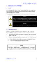 SERVOPRO PureGas Operator Manual 02005001A_0 - 9