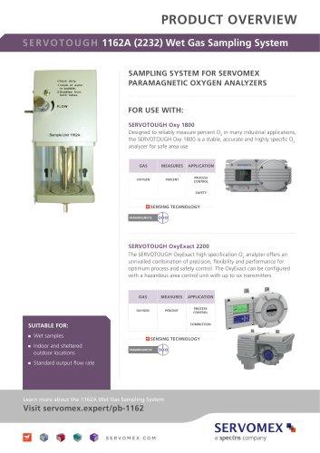 SERVOTOUGH 1162A (2232) Wet Gas Sampling System Product Brochure