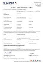 SERVOTOUGH FluegasExact 2700 Certification Manual 02700008D_6 - 9