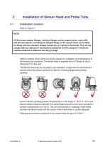 SERVOTOUGH FluegasExact 2700 Installation Manual 02700005D_6 - 13