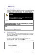 SERVOTOUGH FluegasExact 2700 Installation Manual 02700005D_6 - 8