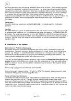 SERVOTOUGH FluegasExact 2700 MiniPurge Installation Manual for Class 1 Div 2 - 4