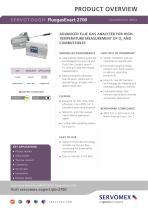 SERVOTOUGH FluegasExact 2700 Product Brochure - 1