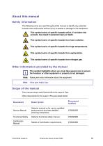 SERVOTOUGH Laser 3 Plus Operator Manual 07931001B_6 - 13