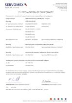 SERVOTOUGH Oxy 1900 Certification Manual 01910008B_10 - 11