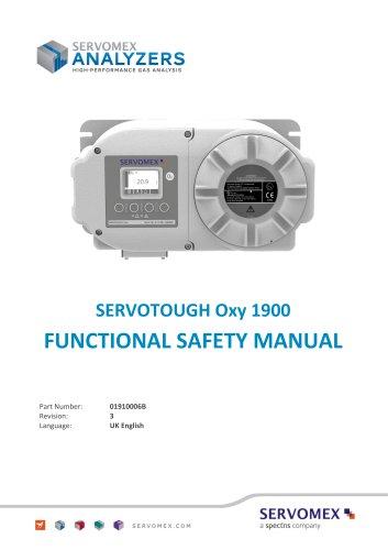 SERVOTOUGH Oxy 1900 Functional Safety Manual 01910006B_3