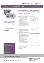 SERVOTOUGH OxyExact 2200 Product Brochure - 1