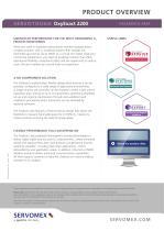 SERVOTOUGH OxyExact 2200 Product Brochure - 2