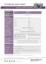 SERVOTOUGH OxyExact 2200 Product Brochure - 3