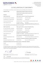 SERVOTOUGH OxyExact 2200 Series Certification Manual 02200008A_22 - 11
