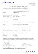 SERVOTOUGH OxyExact 2200 Series Certification Manual 02200008A_22 - 12