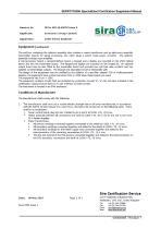 SERVOTOUGH SpectraExact 2500 Approvals_Certificates & Conditions Manual 02500008E_1 - 13