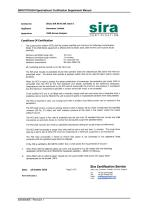 SERVOTOUGH SpectraExact 2500 Approvals_Certificates & Conditions Manual 02500008E_1 - 28