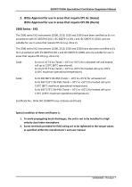 SERVOTOUGH SpectraExact 2500 Approvals_Certificates & Conditions Manual 02500008E_1 - 7