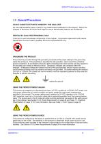 SERVOTOUGH SpectraScan 2400 User Manual 02400001A_1 - 15