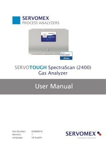 SERVOTOUGH SpectraScan 2400 User Manual 02400001A_1
