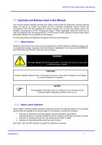 SERVOTOUGH SpectraScan 2400 User Manual 02400001A_1 - 9