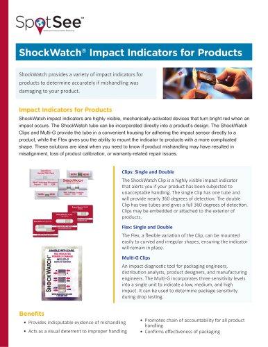 ShockWatch Tube