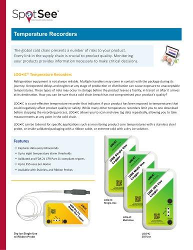 Temperature Recorders