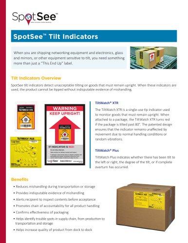Tilt Indicators