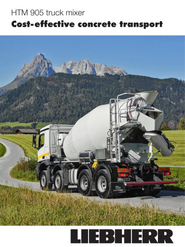 Brochure truckmixer HTM 905