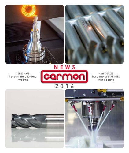 HMB series hard metal end mills with coating