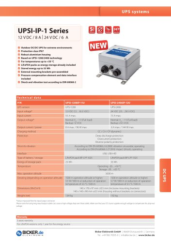 UPSI-1208IP-11U